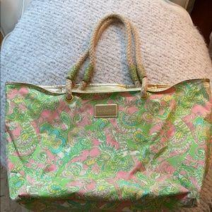 Lilly Pulitzer Beach Bag